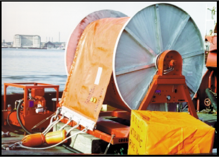 Hydraulic Reels for Inflatable Booms